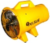 Pelsue poly Axial Ventilators Single speed weather resistant 8 inch blower